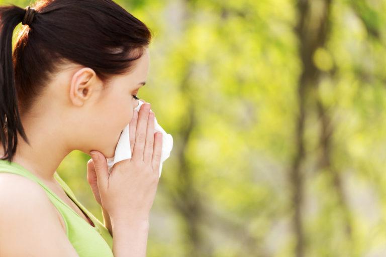 ランニング 花粉症