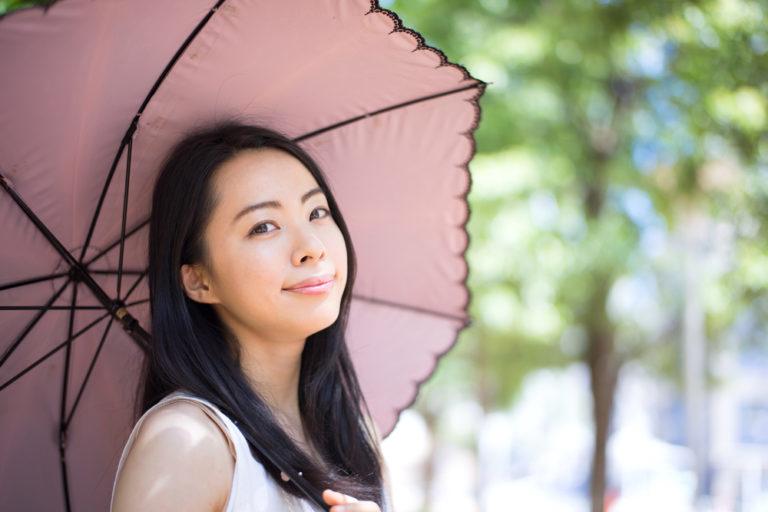 手軽にできるあわせ技ならスプレー+日傘!