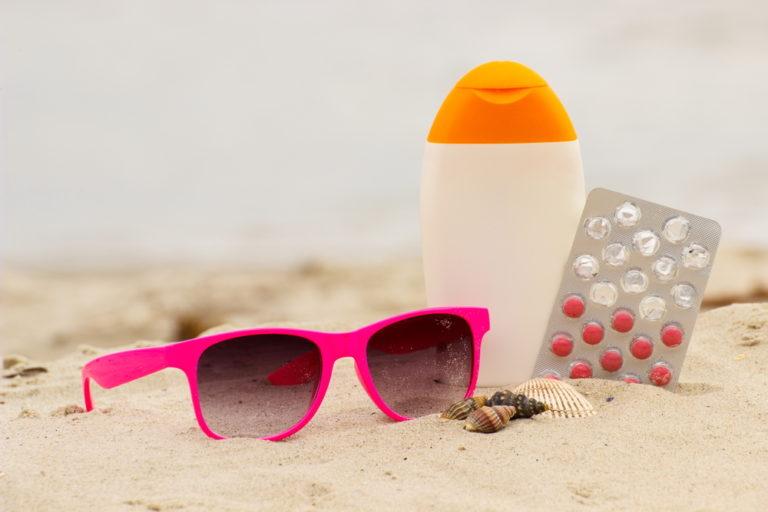 一番のオススメは日焼け止めサプリメントと乳液・ジェル!
