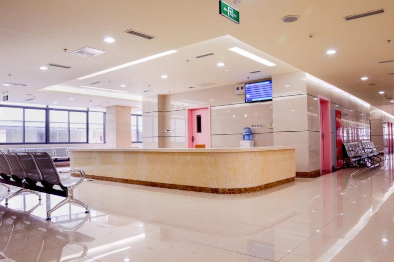 皮膚科の待合室の画像