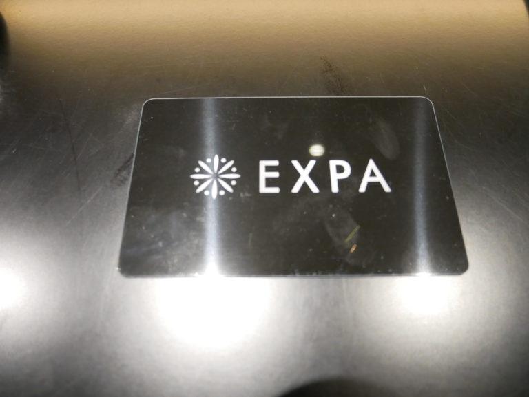 暗闇フィットネス-エクスパ-会員カード
