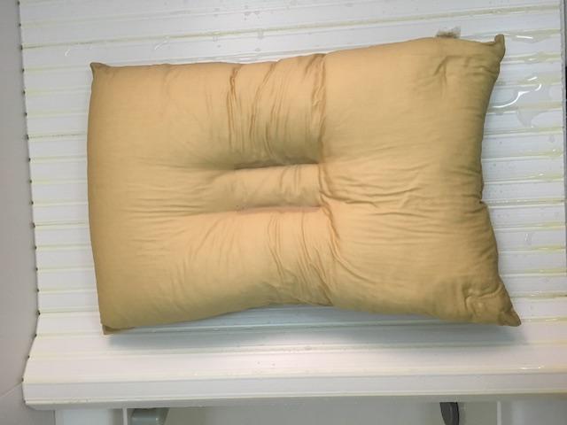 洗い終わった枕