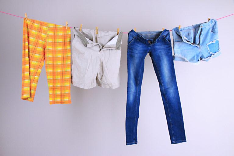 複数の洗濯物