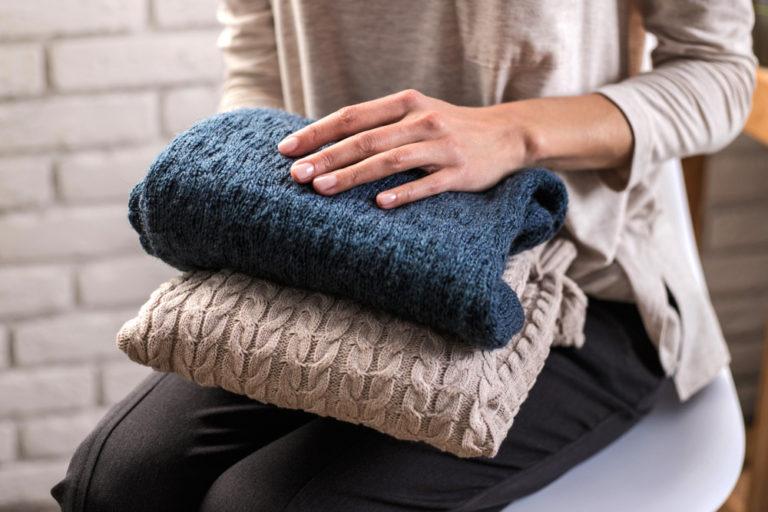 セーターのお手入れ方法