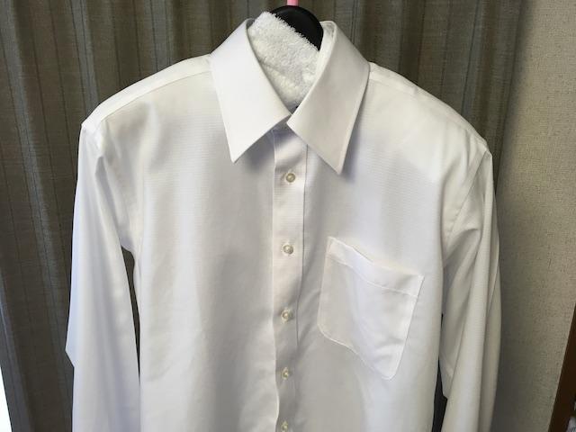 乾かしたワイシャツ①