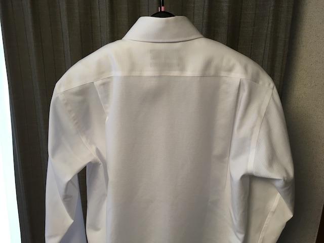 乾かしたワイシャツ②